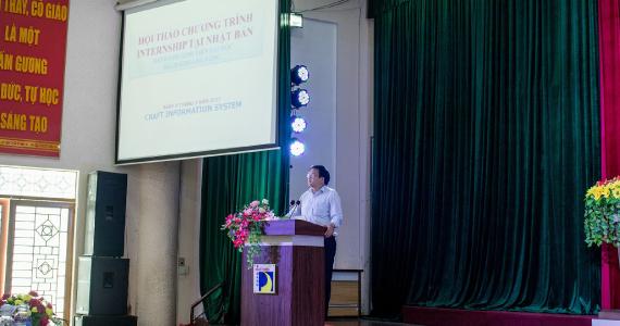 ベトナム・ダナン工科大学でのセミナーの様子